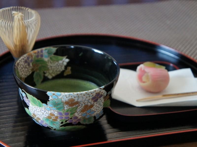 テーブル茶道(抹茶でおもてなし)(オンライン講座あり)の画像