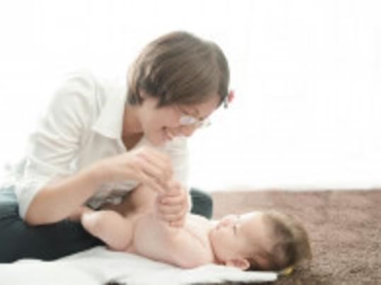 小牧市 赤ちゃんご機嫌でママもHappy*ベビーマッサージの画像