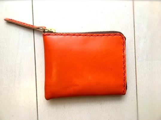 【レザークラフト】栃木レザーでつくるミニマムな財布の画像