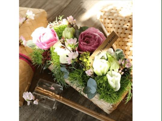 【プレミアムフライデー対象講座】桜の花かご弁当を作ろうの画像