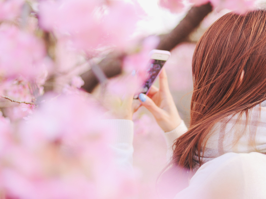 """春本番!""""出逢い上手さんになるための自分磨き、1、2、3♡""""の画像"""