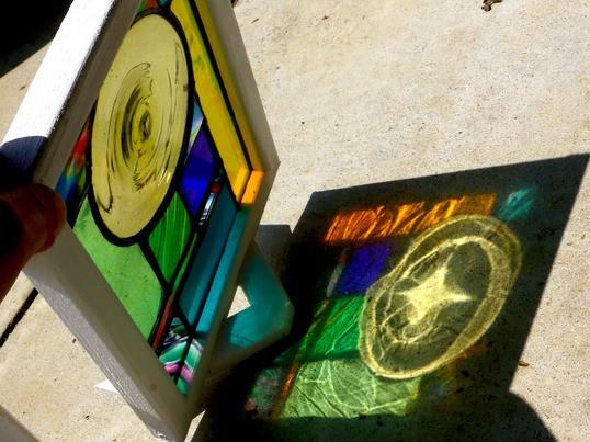 ステンドグラスの魅力 製作一日体験・教室の画像