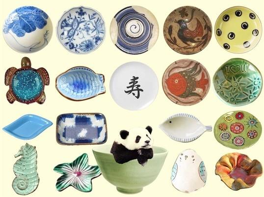 豆皿を作る陶芸ワークショップ!の画像