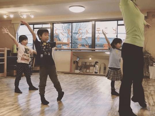 キッズダンス.ファン ピラティスを取り入れた体幹作りとリズムダンスの画像