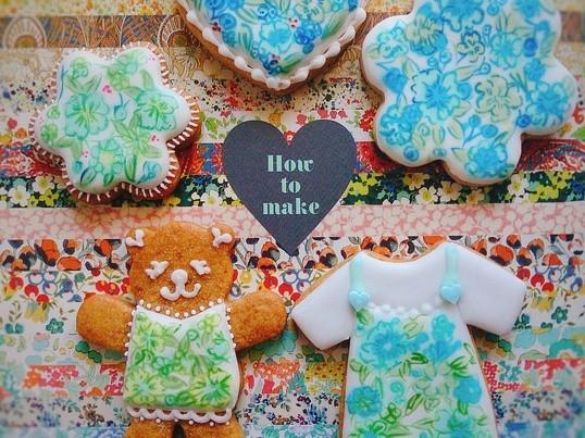 初心者でも大丈夫!花いっぱいのアイシングクッキーを作ろう!の画像