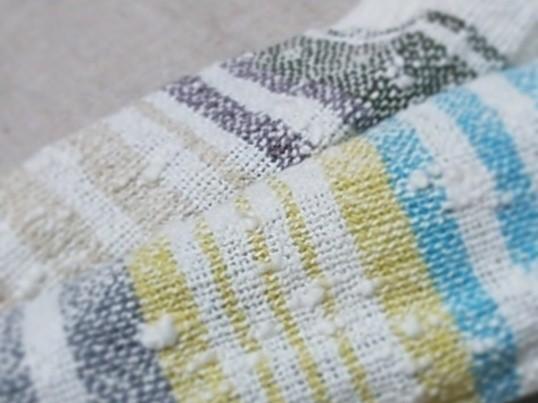 お好きな色、選べます☆ 初めての機織り~オリジナルのハンカチ織りの画像