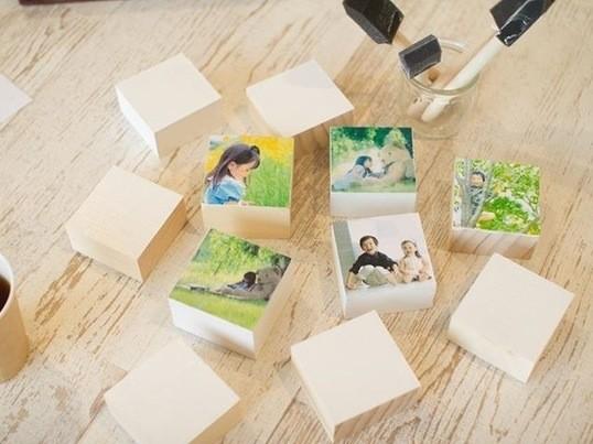 好きな写真でフォトブロックを作ろう!!の画像