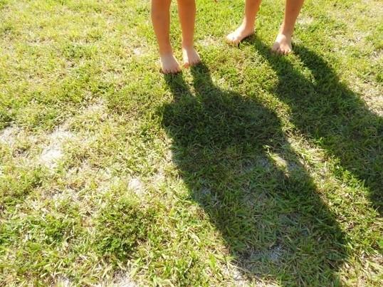 子どもの筋肉痛を治したい!~脚のオイルケア方法の画像