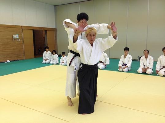富士見総合体育館合気道体験教室の画像