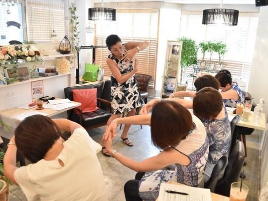 """林元子の""""大人の心と身体の魅力塾""""の画像"""
