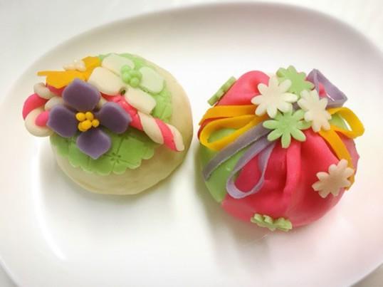 美しい!春のあんクラフトケーキの画像