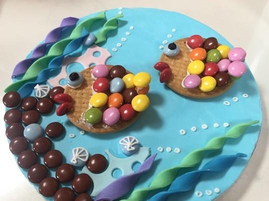 【博多マルイ開催】「マーブルモザイク」食べられるアートを作ろうの画像