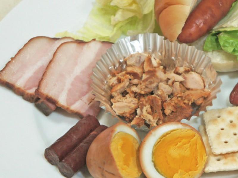 【自宅でできる燻製料理:おつまみ編】おつまみ15品・実習&試食の画像