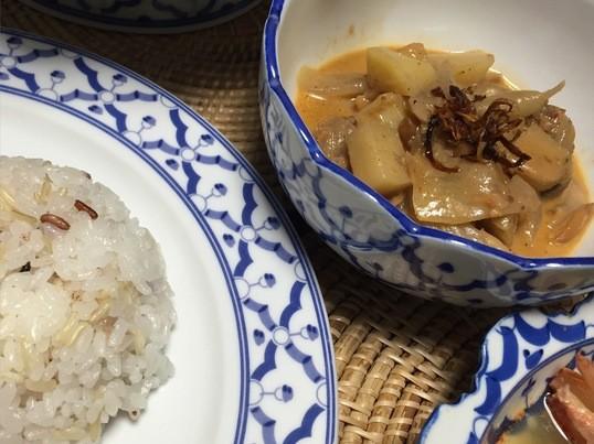 【タイ料理入門編】トムヤムクンとマッサマンカレーを作ろう!の画像