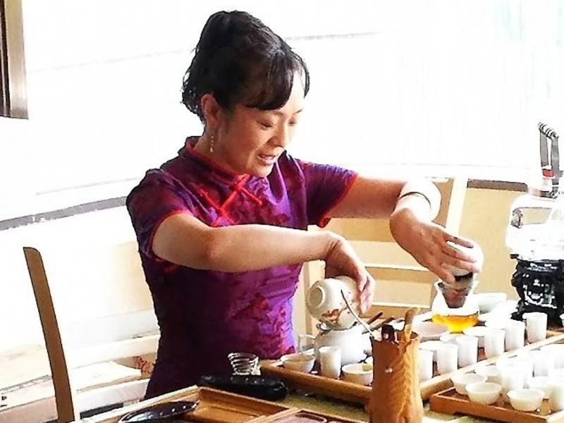 【イケメンワイン講座&中国茶講座】ワイン×中華×中国茶の画像