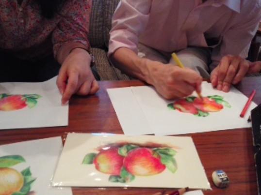 色鉛筆でリアルに描いてみよう!の画像
