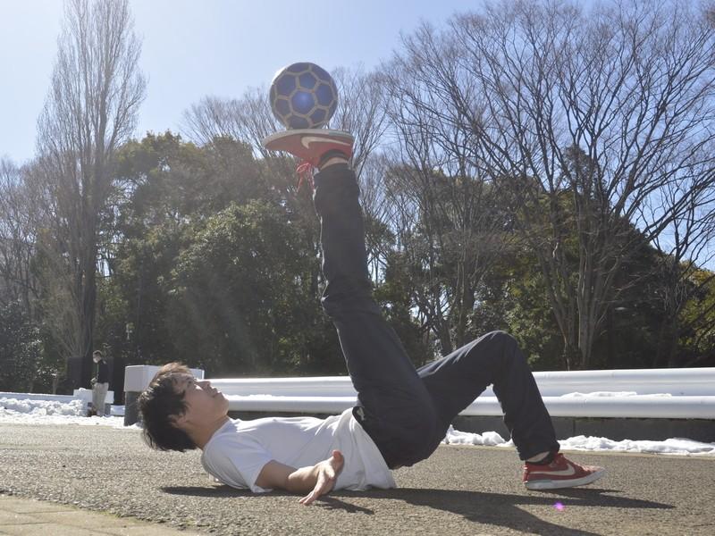 【新宿で初心者♪】初めてのフリースタイルフットボールを楽しもう!の画像