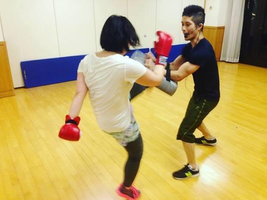キックボクシング・プライベートレッスン♪の画像