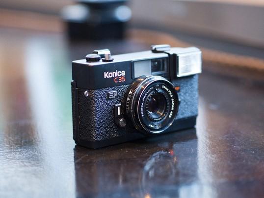 フィルムカメラ一台プレゼント!フィルムカメラで撮影してみよう!の画像