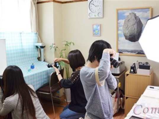 女性限定 一眼入門少人数カメラ教室の画像