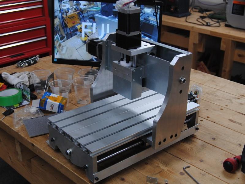 CNC切削機(フライス加工)を作成するの画像