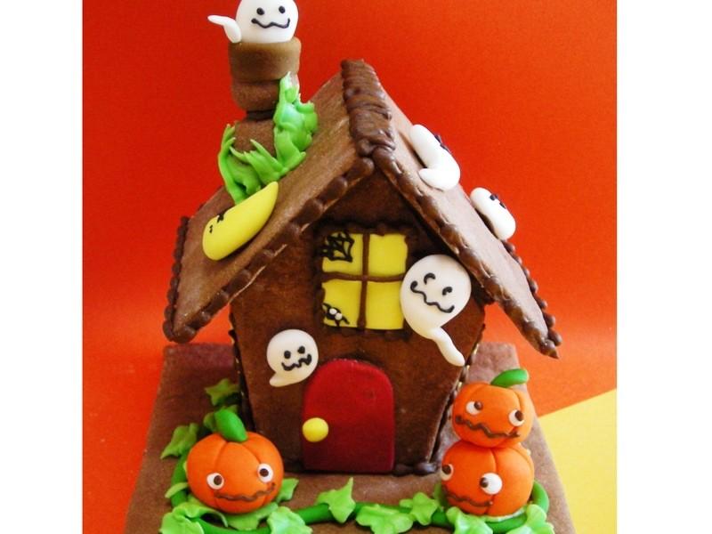 ハロウィンのお菓子の家を作ろうの画像