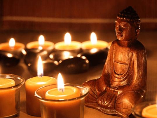 写Gods キャンドル瞑想 × YOGAの画像