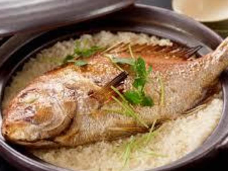 豪華!土鍋で鯛めしを作ろう!の画像