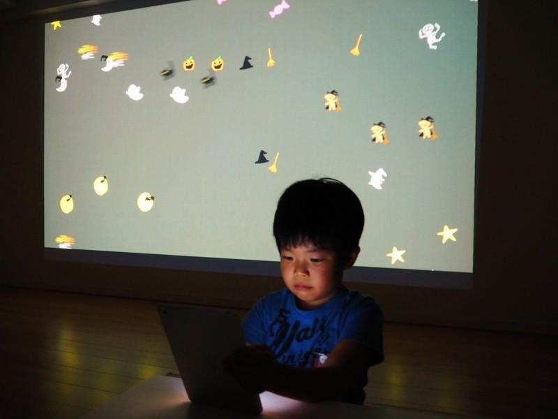 3歳からのプログラミング!ハロウィンのおばけ屋敷を作ろうの画像