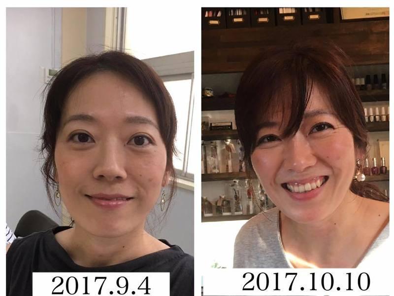 アンチエイジング☆顔ヨガレッスンと可愛いハロウィンの画像