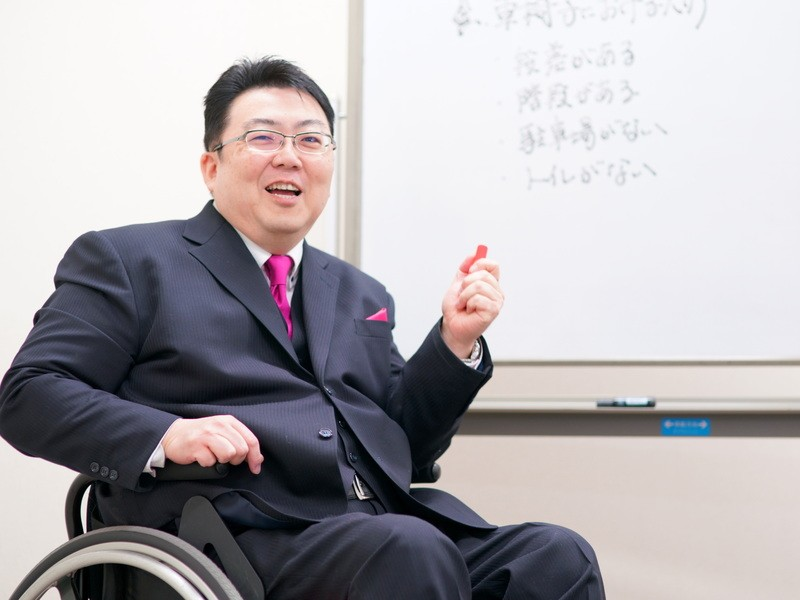 車椅子生活で培ったピンチをチャンスに変える秘訣の画像