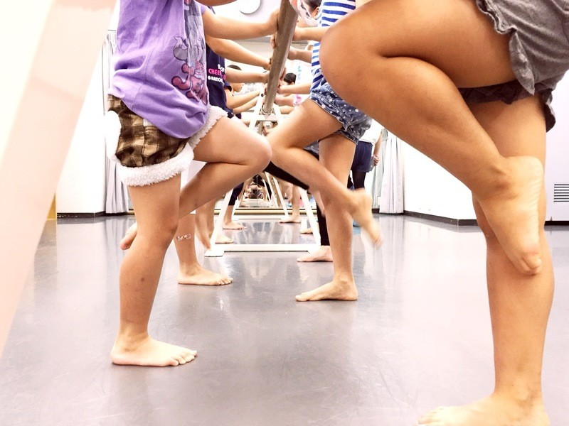競技をめざす子どもたちのためのバレエ体験の画像