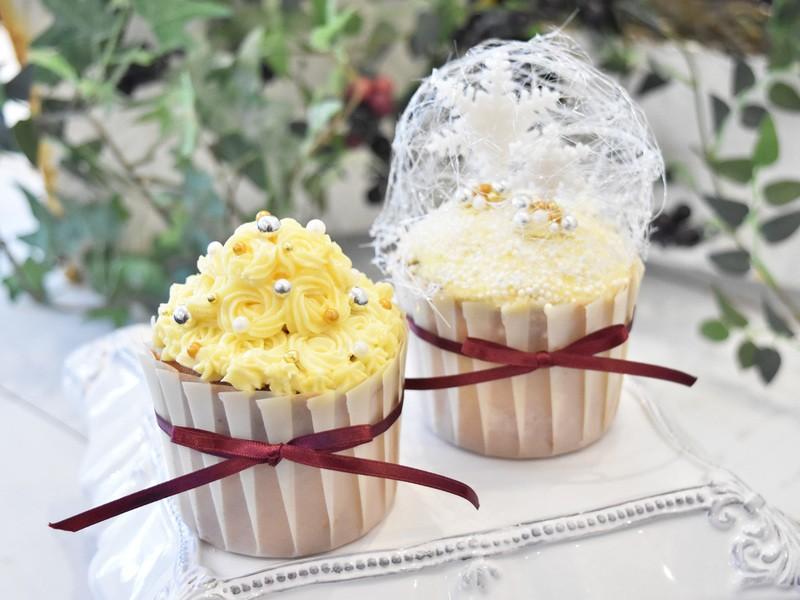 SNS映えする大人っぽいカップケーキを作りましょう!の画像