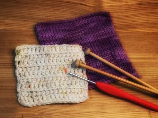 はじめての編み物体験<棒編み編>の画像