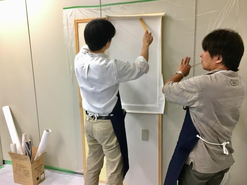 【開催終了】壁紙の貼り方入門ワークショップ♪壁紙だって模様替え♪ の画像