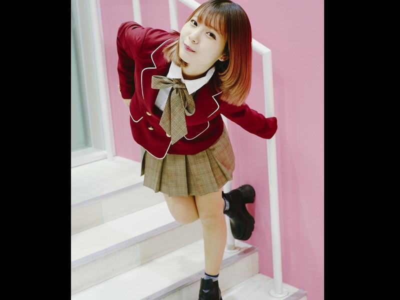 ♬韓国制服☆お散歩ポトレ撮影講座♬《お台場》ユイ 編♬の画像