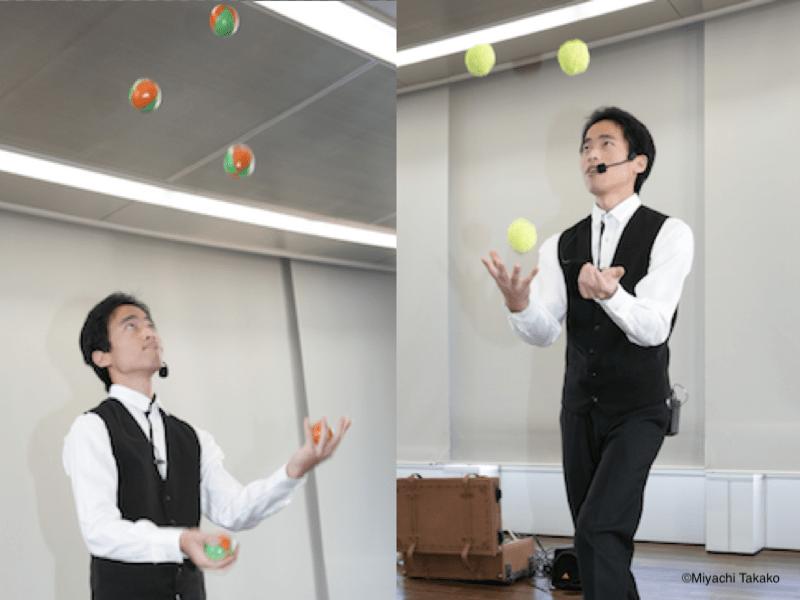 プロジャグラーが教える!はじめてのボールジャグリング(お手玉)の画像