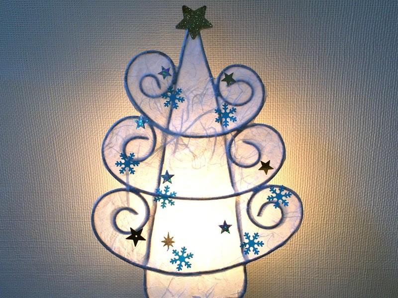 【期間限定】聖なる夜に☆ ホワイトツリーライトの画像