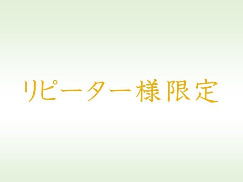 【ブログ個別指導】リピーター様限定の画像