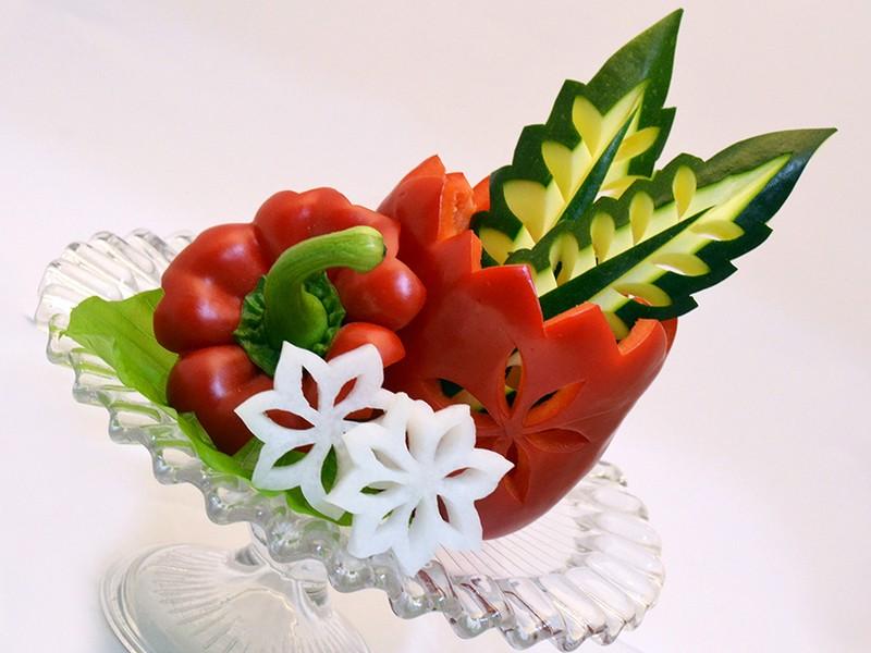 インスタ映えする野菜彫刻レッスン!(材料費込)の画像