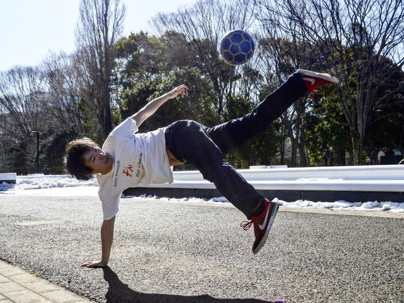 【長津田で初心者♪】初めてのフリースタイルフットボールを楽しもう!の画像