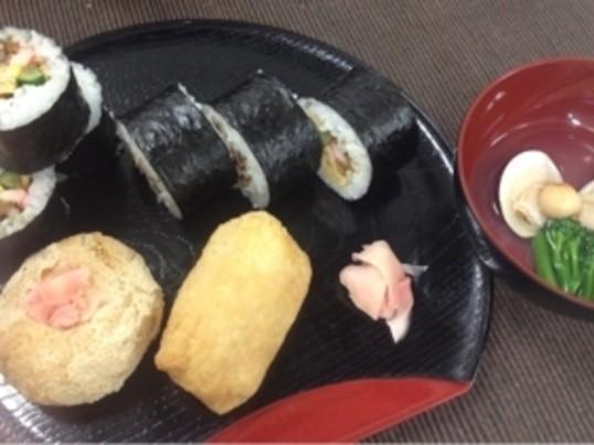料理の基本を学べる料理教室 太巻き寿司 いなり寿司 お吸い物の画像