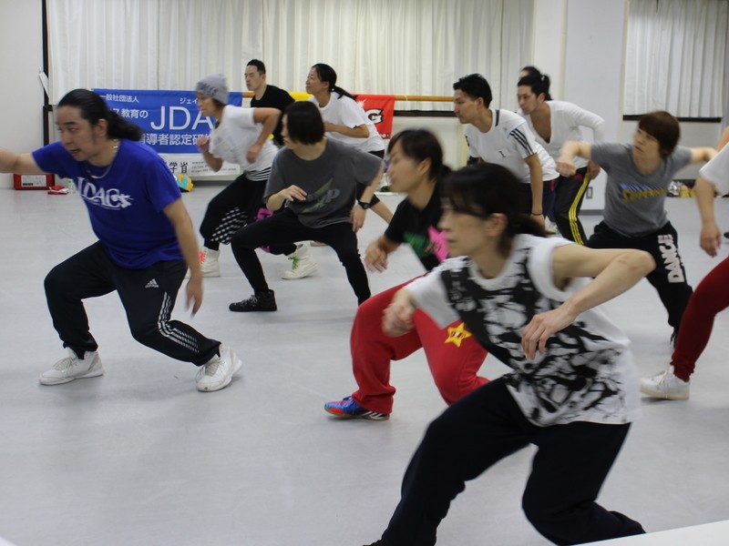 『リズムダンス ステップ Ⅰ』講座の画像