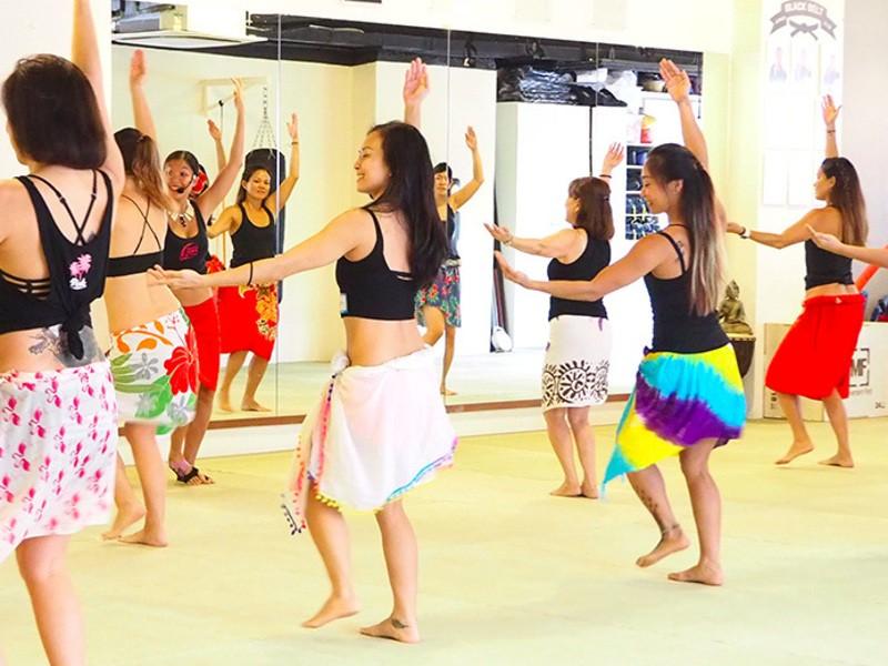 英語で教える♬ タヒチアンダンス・ワークショップの画像