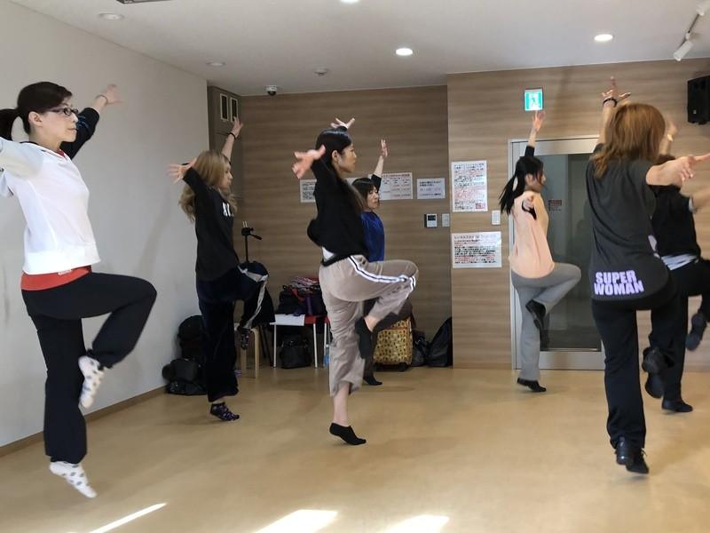 たのしいジャズダンス入門Ⅱ~ダンステクニックをアップの画像