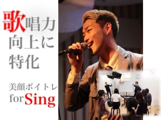 歌唱力アップに特化♩歌いたい人の為の《美顔ボイトレforSing》の画像