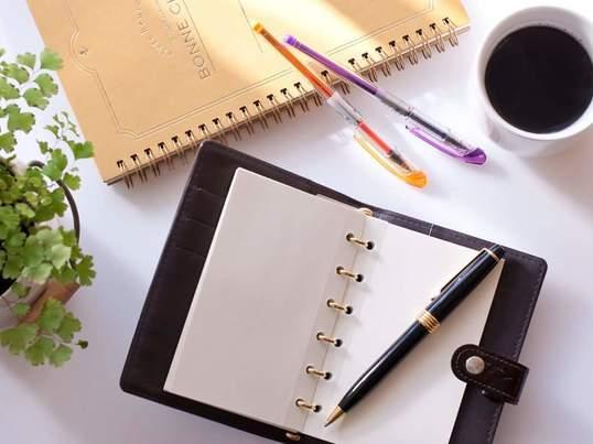 【手帳を使って夢やしあわせを引き寄せる!手帳カフェ会】の画像