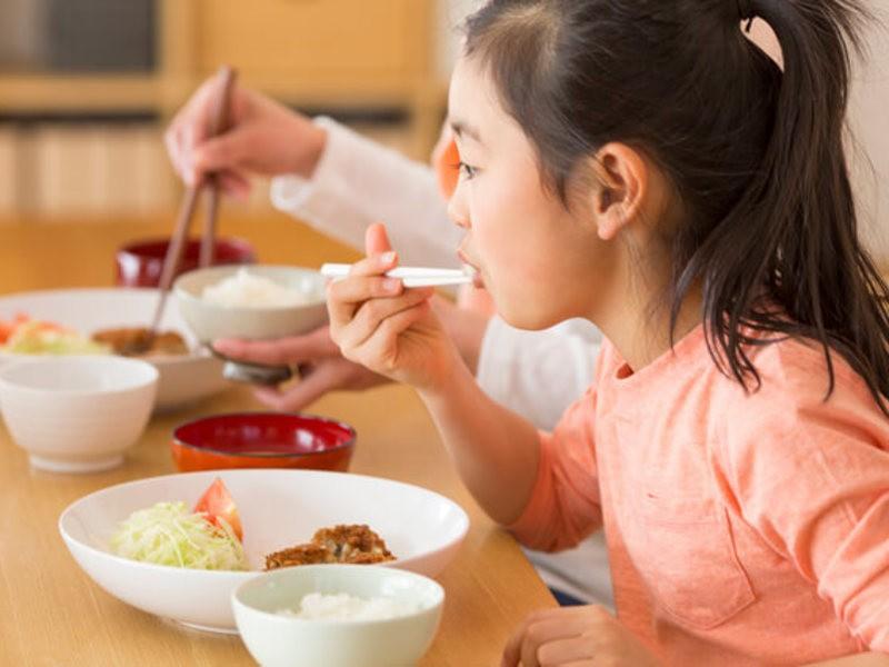 親子で食育クッキングの画像