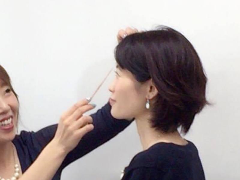 美しさを引き出す印象力アップ/大阪格上げおしゃれ入門体験お茶会講座の画像