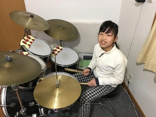 """ドラム教室  """"楽しくドラムを叩きましょう!""""の画像"""